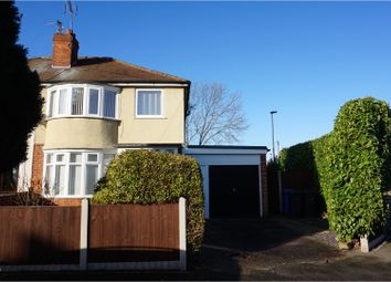 Thumbnail 3 bedroom semi-detached house for sale in Strathmore Avenue, Alvaston