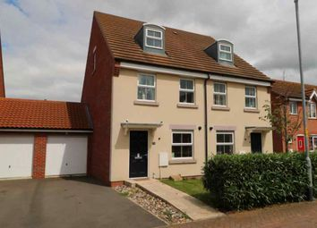Thumbnail Semi-detached house for sale in Hathersage Close, Grantham