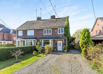 Thumbnail 4 bed semi-detached house for sale in Twemlow Lane, Holmes Chapel, Crewe