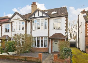 Thumbnail 5 bed semi-detached house for sale in Melbury Gardens, London