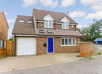 Thumbnail 4 bed detached house for sale in Brunswick Close, Biggleswade