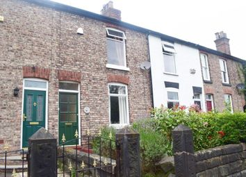 Thumbnail 2 bed terraced house for sale in Wharf Road, Altrincham