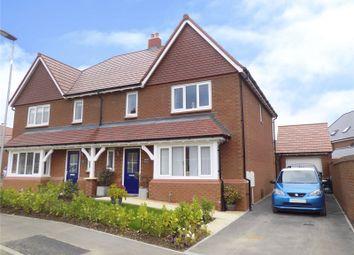 Thumbnail 4 bed semi-detached house for sale in Mackmurdo Avenue, Tadpole Garden Village, Swindon, Wiltshire