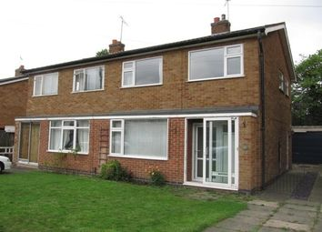 Thumbnail 3 bed property to rent in Thirlmere Drive, Loughborough