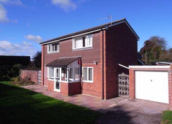 Thumbnail 3 bed detached house for sale in Blenheim Drive, Ledbury