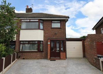 Thumbnail 3 bed semi-detached house for sale in Spinney Avenue, Widnes