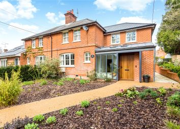 Thumbnail 4 bed semi-detached house for sale in Compton Street, Compton, Winchester, Hampshire