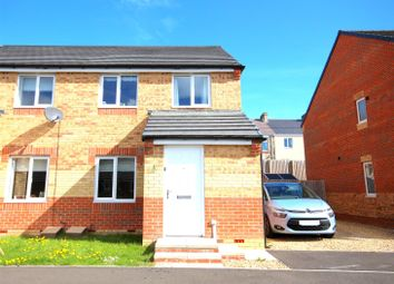 Thumbnail 3 bed semi-detached house for sale in Scholars Court, Ushaw Moor, Durham