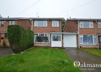 Thumbnail 3 bed detached house for sale in Chesterwood, Hollywood, Birmingham, West Midlands.
