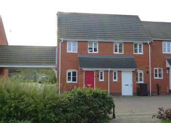 Thumbnail 1 bedroom end terrace house to rent in Selway Drive, Bury St. Edmunds