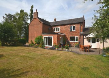 Thumbnail 3 bed detached house for sale in Rosehill Road, Rosehill, Market Drayton