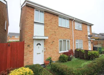 Thumbnail 3 bed semi-detached house for sale in Bembridge Gardens, Luton, Bedfordshire