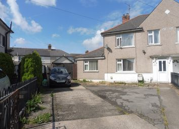 Thumbnail 3 bed semi-detached house for sale in Mona Place, Tremorfa, Cardiff