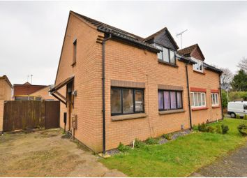 Thumbnail 3 bed semi-detached house for sale in Irondale Close, Danefield, Northampton