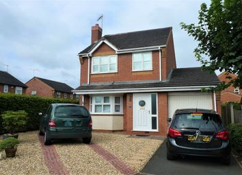Thumbnail 3 bed detached house to rent in Holbeach Way, Stafford