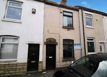 Thumbnail 2 bedroom terraced house for sale in Rutland Street, Stoke-On-Trent, Staffordshire