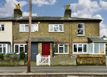 Thumbnail 2 bed terraced house for sale in Rushett Road, Thames Ditton