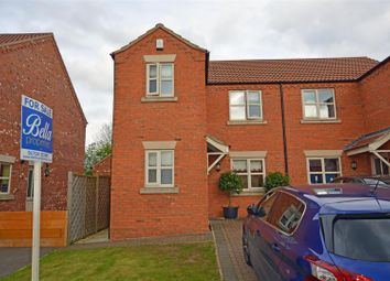 Thumbnail 3 bed property for sale in College Lawns, Broughton, Brigg