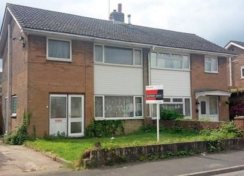 Thumbnail 3 bed semi-detached house for sale in Tennyson Road, Caldicot