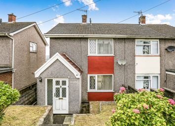 Thumbnail 2 bedroom semi-detached house for sale in Caernarvon Way, Bonymaen, Swansea