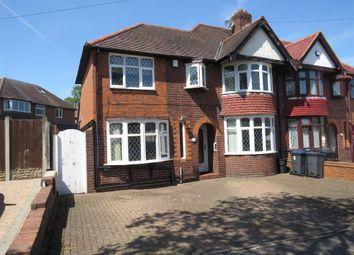 Thumbnail 4 bed semi-detached house for sale in Lloyd Road, Handsworth Wood, Birmingham