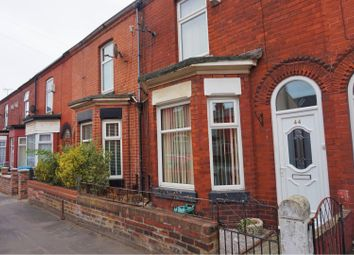 Thumbnail 2 bed terraced house for sale in Woodland Avenue, Manchester