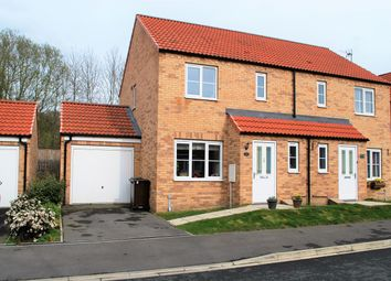 Thumbnail 3 bed semi-detached house for sale in Evergreen Way, Norton, Malton