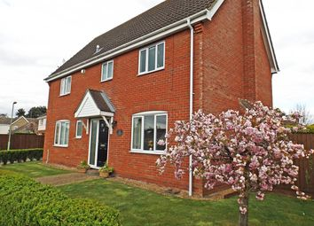 Thumbnail 5 bedroom detached house for sale in Barton Road, Thurston, Bury St. Edmunds