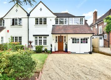 Thumbnail 4 bed semi-detached house for sale in Evelyn Drive, Pinner