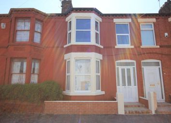 Thumbnail 3 bedroom terraced house for sale in Long Lane, Wavertree, Liverpool
