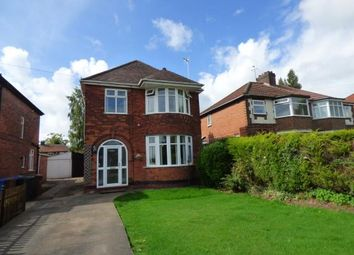Thumbnail 3 bed detached house for sale in Wiltshire Road, Chaddesden, Derby, Derbyshire