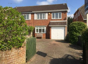 Thumbnail 4 bedroom semi-detached house for sale in Saunders Court, Bowling Green Lane, Purley On Thames, Reading
