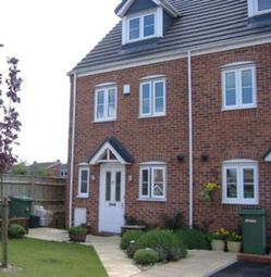 Thumbnail 3 bed town house to rent in Windrush Close, Pelsall, Walsall