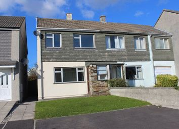 Thumbnail 3 bed end terrace house for sale in Fairfield Close, St. Austell