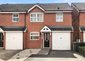Thumbnail 3 bed semi-detached house for sale in Huskinson Drive, Hereford