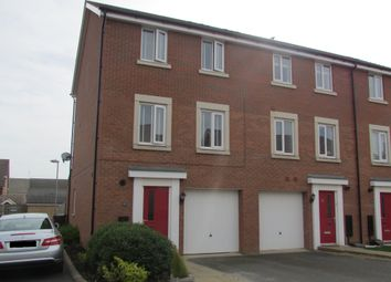 Thumbnail 4 bed town house for sale in Lares Avenue, Cardea, Peterborough