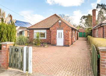 Thumbnail 3 bed detached bungalow for sale in Sherwood Grove, Acomb, York, North Yorkshire