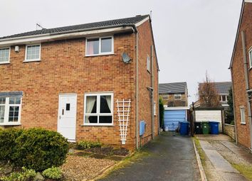 Thumbnail 2 bedroom semi-detached house for sale in Butterton Drive, Linacre Woods, Chesterfield