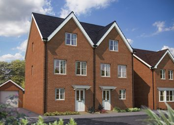 "Thumbnail 3 bedroom terraced house for sale in ""The Winchcombe"" at Appleton Way, Shinfield, Reading"