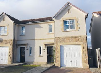Thumbnail 3 bed semi-detached house for sale in Admirals Way, Westhill, Inverness