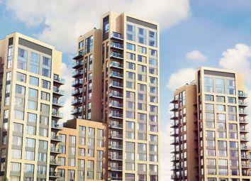 Thumbnail 1 bed flat for sale in Santina Building, Morello Quarter, Cherry Orchard Road, Croydon, Surrey