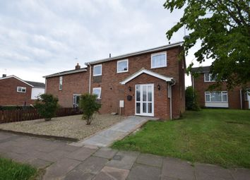 Thumbnail 4 bedroom semi-detached house for sale in Oakes Road, Bury St. Edmunds