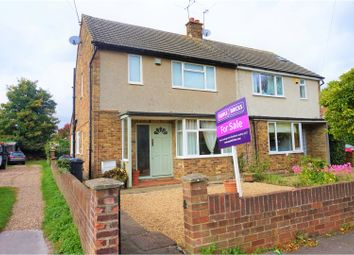 Thumbnail 2 bed semi-detached house for sale in Penn Road, Slough