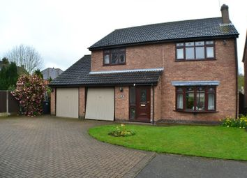 Thumbnail 4 bed detached house for sale in Pine Tree Close, Newbold Verdon, Leicester