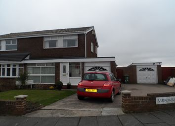 Thumbnail 3 bedroom semi-detached house for sale in Barrowburn Place, Seghill, Cramlington
