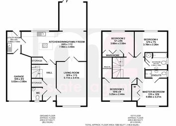 Thumbnail 4 bedroom detached house for sale in Cambrian Close, Marshfield, Cardiff