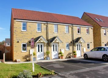 Thumbnail 2 bedroom end terrace house for sale in Hornbeam Close, Selby