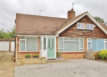 Thumbnail 3 bed semi-detached bungalow for sale in Longford Gardens, Sutton