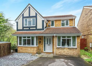 Thumbnail 4 bedroom detached house for sale in Sherwood Close, Hatch Warren, Basingstoke