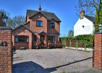 Thumbnail 3 bed detached house for sale in West Road, Weaverham, Northwich